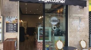 Bagel corner - La façade du restaurant