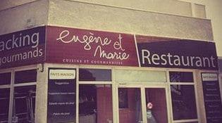 Eugene et Marie - La façade du resturant