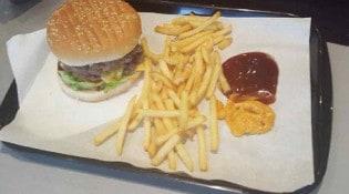 Le 7 Sept - Un burger et frites
