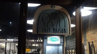 Le Hangar - La façade du restaurant