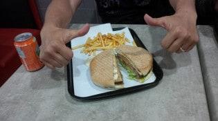 Minut'Burger - Un burger et frites