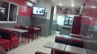 Minut'Burger - La salle de restauration