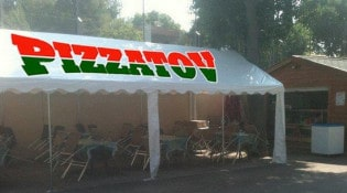 Pizza Tov - terrasse
