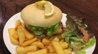Le Ty'Zac - Le fish burger au cabillaud et sa sauce tartare