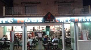 Entre nous - La façade du restaurant