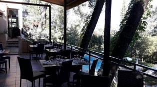 Les Coulondrines - La terrasse