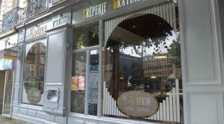A L' Affiche - La façade du restaurant