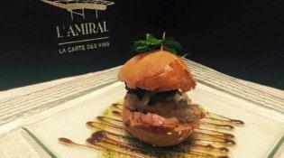 L'Amiral - Burger de thon