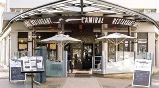 L'Amiral - La façade du restaurant