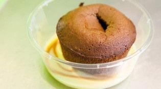 L'assiette Volante - Le moêlleux au chocolat à coeur