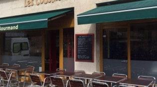 Les Cousin Germain - La façade du restaurant