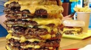 So Pizza Burger - Un burger