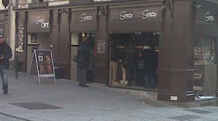 Stratto - La façade du restaurant