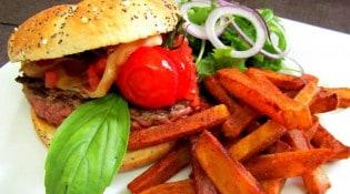 La Minoterie - Une assiette burger