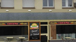 Le jardin des pizzas - la façade