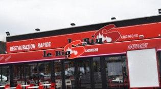 Le Big S - La façade du restaurant