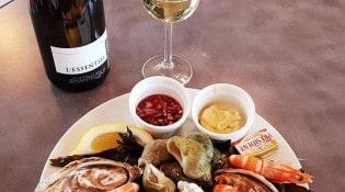 Brasserie de l'île d'Or - Un plateau fruits de mer
