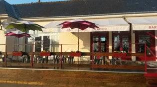 Brasserie de l'île d'Or - La façade du restaurant