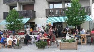 Le Camp de Base - La façade du restaurant