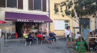 Art et pizza - La façade du restaurant