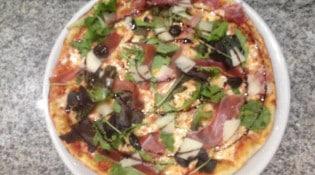 Art et pizza - Une pizza