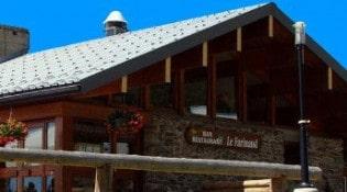 Le Farinaud - La façade du restaurant