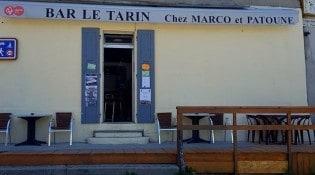 Le Tarin - La façade du restaurant
