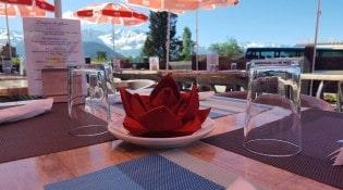 L'assiette givrée - La terrasse