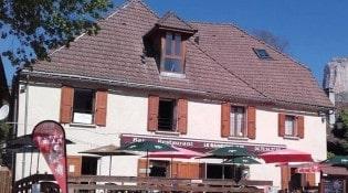 Le Randonneur - La façade du restaurant