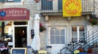 Crêpes & Gourmandises - La façade du restaurant