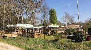 La Paillote - La façade du restaurant