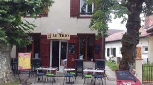 Le trio - La façade du restaurant