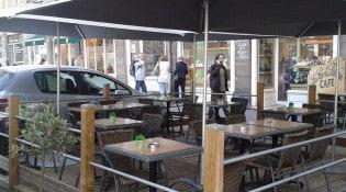 Café Saint Pierre - La terrasse
