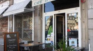Café Saint Pierre - La façade du restaurant
