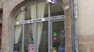 Crêperie de Briord - la façade