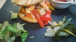La P'tite Ardoise - Le fameux hamburger
