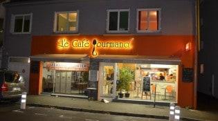 Le Café Gourmand - la facade