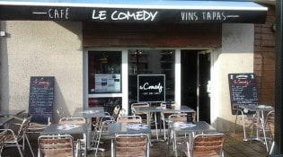 Le Comedy - La façade du restaurant