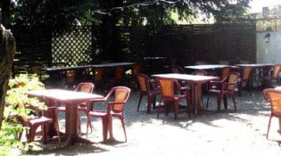 L'Arlequin - La terrasse