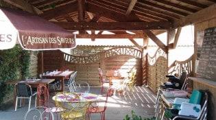 L' Abel Auberge - La terrasse