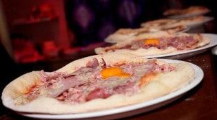 Le Rococo - La pizza au jambon, oeuf,....