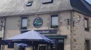 Le Réconfort - La façade du restaurant