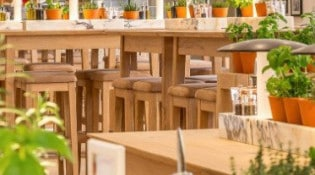 Vapiano - La salle de restauration