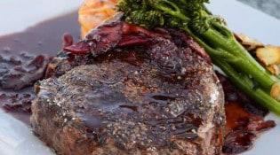 Brasserie les Cheminots - Un plat de viande