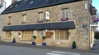Chez Nous - La façade du restaurant