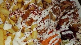 La Pause Kebab - une assiette kebab