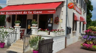 Restaurant de la Gare - la façade