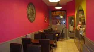 Le Soummam Kebab - La salle de restauration