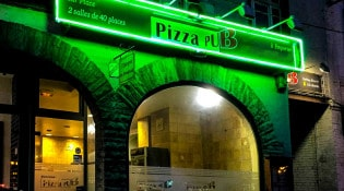 Pizza Pub - La devanture du restaurant