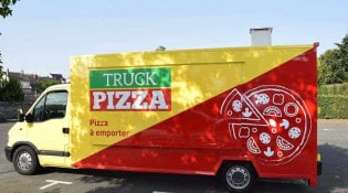 Truck Pizza - le camion